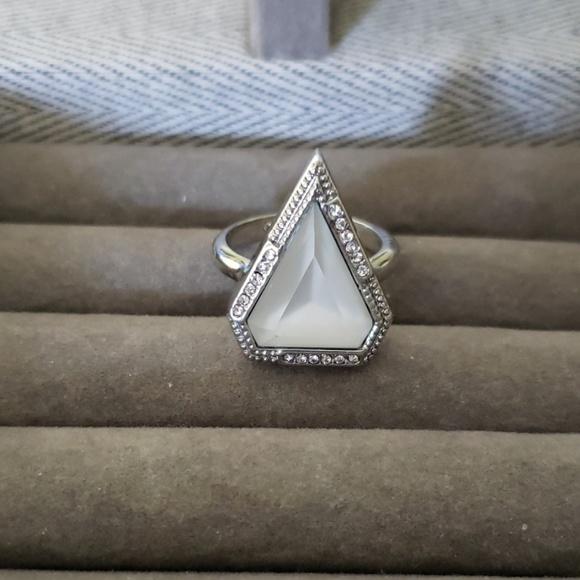 Chloe + Isabel Jewelry - Chloe +Isabel White Stone Ring, Size 7